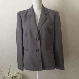 NWT-Kasper grey blazer